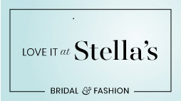 Love it at Stella's bridal & fashions